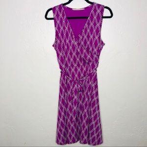 41 Hawthorne | Faux wrap v-neck tie waist